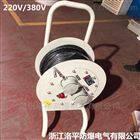 50米防爆电缆盘 220V防爆移动检修缠线盘