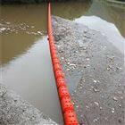 水位落差大的河道用拦污浮筒供应