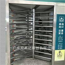 不锈钢梳状全高单向门生产厂家