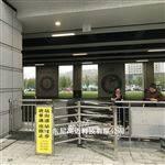 NGM六安高鐵站旅客進站通道半高單向旋轉閘門