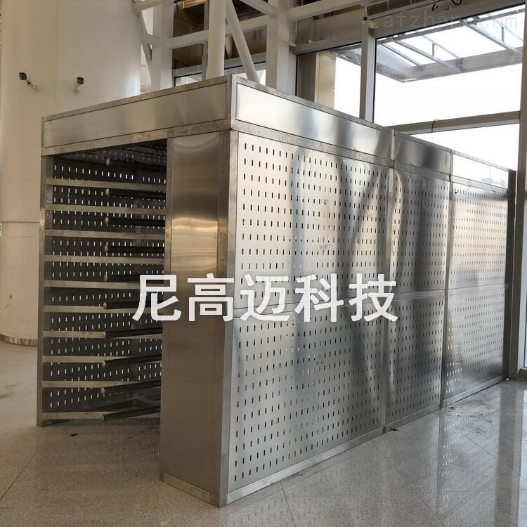 高铁站出口双层重叠式全高单向闸机定制