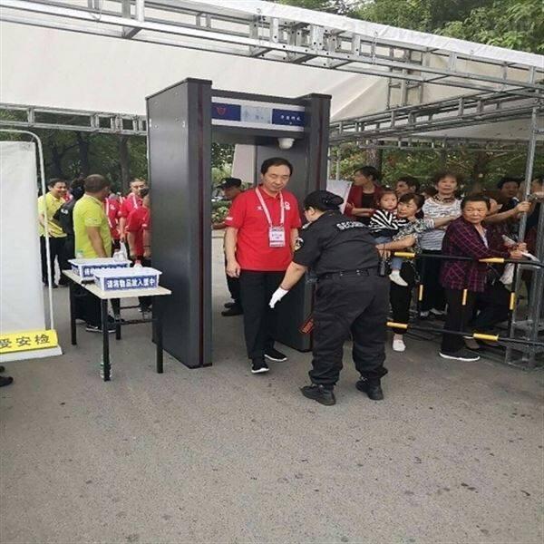 大客流汽车站危险品安检门