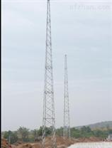 GH系列25米钢结构避雷针塔避雷塔