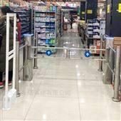 NGM电动超市摆闸门 红外感应圆柱形护栏过道闸