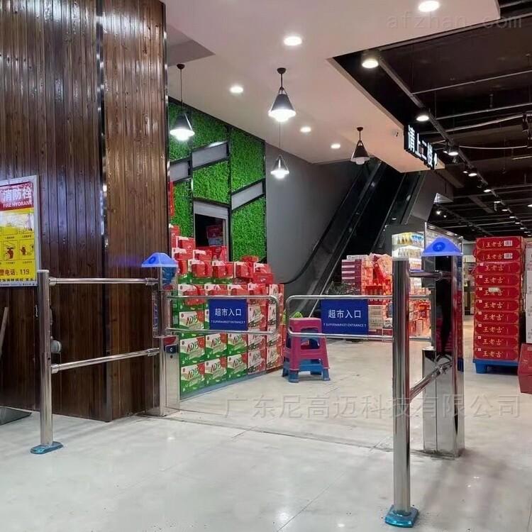 乌鲁木齐超市红外感应自动摆闸门