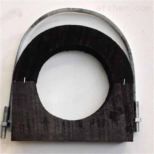 防腐水管管托型号多样  浸油硬质管托加工