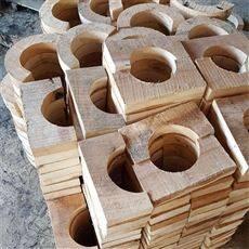 异型红松保冷空调木托定做厂家