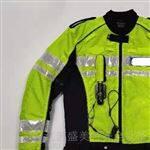 新款交巡警充氣反光氣囊騎行服氣囊反光馬甲