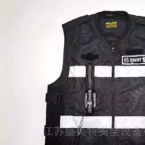 交巡警反光安全气囊骑行服气囊马甲充气背心
