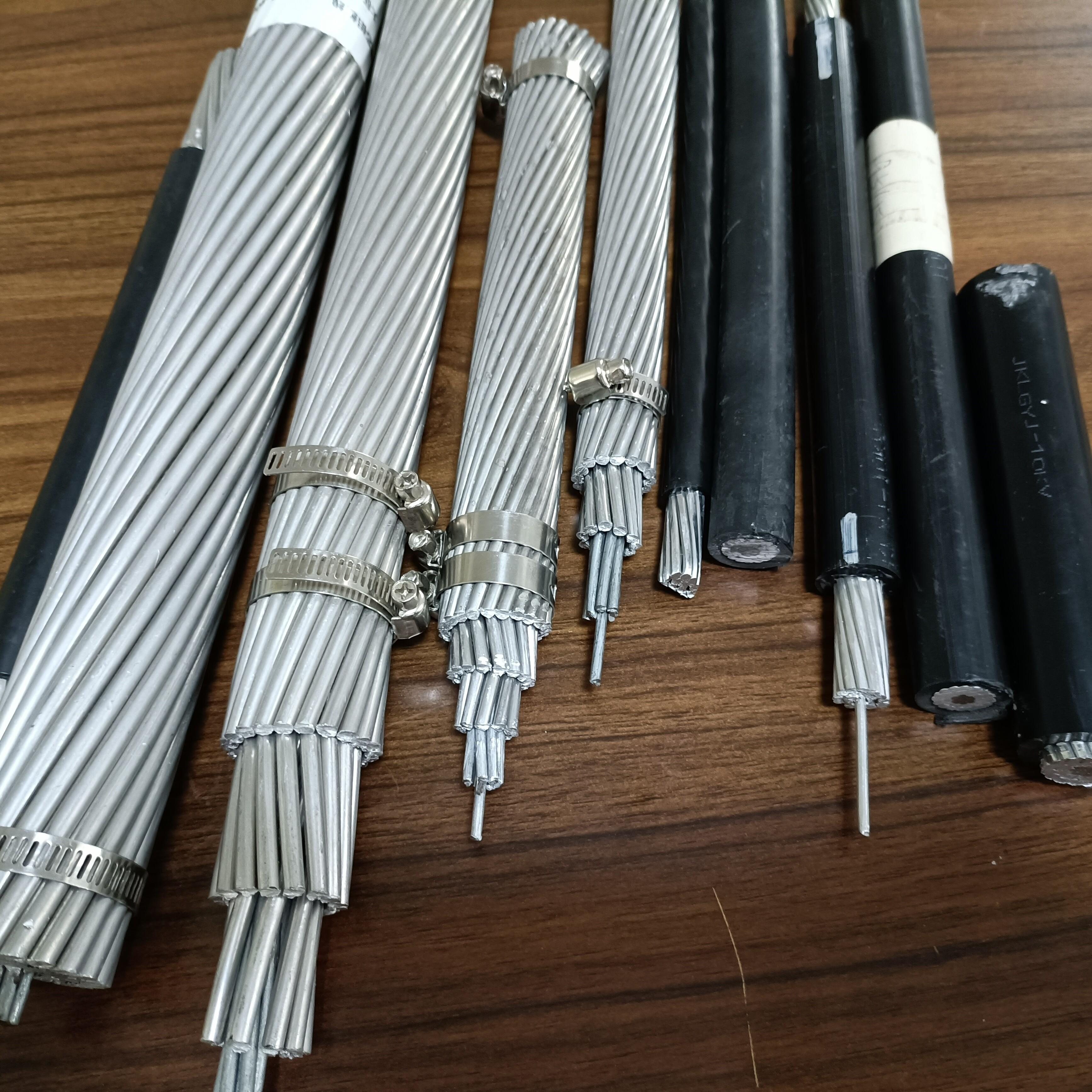 双分裂铝包钢芯耐热铝合金绞线现货库存