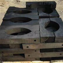大型蒸汽管道木托 管道管托定做厂家地址
