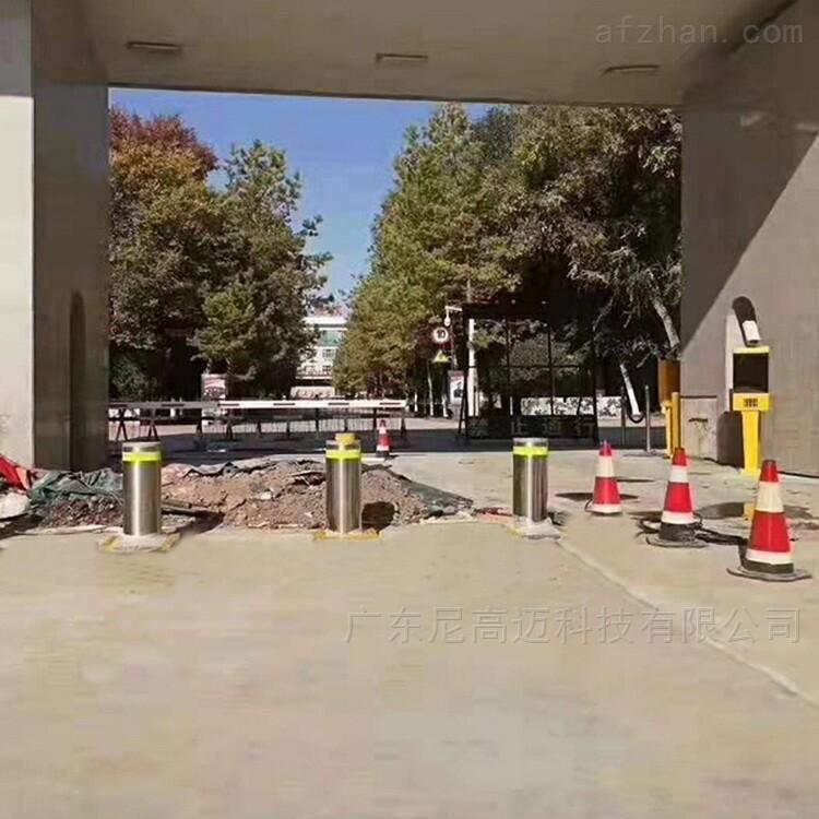 社区道路隔离电动一体式液压升降防撞柱价格