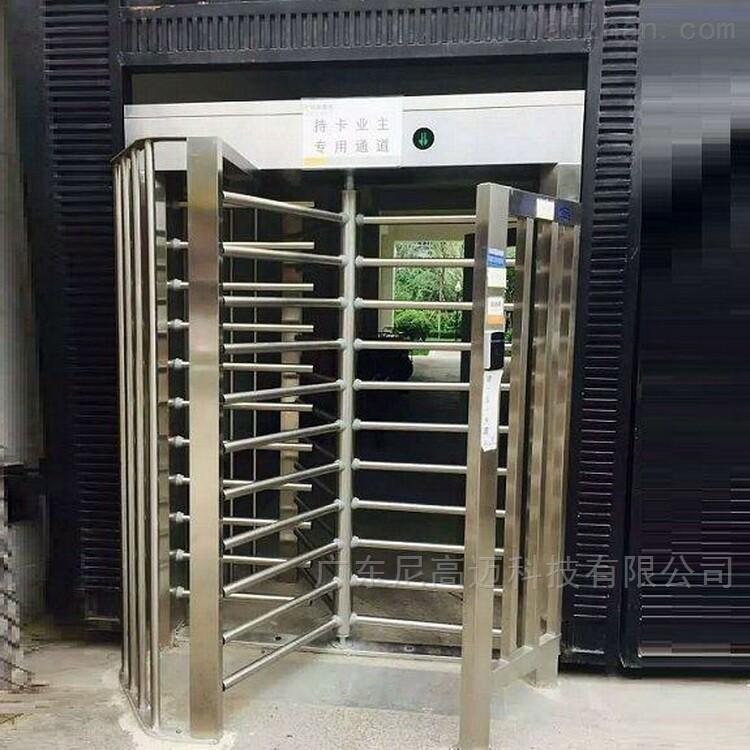 电动旋转式不锈钢栅栏全高闸价格