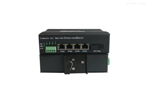 工业级4路千兆网络+2路数据光端机