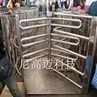 陕西车站单项门 不锈钢半高旋转闸