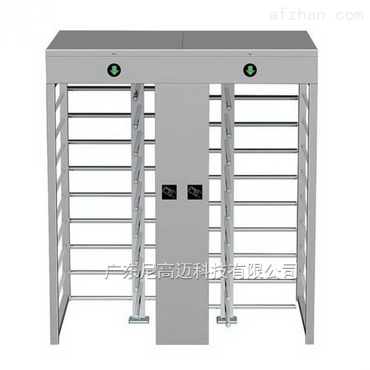 全封闭式栅栏挡闸 十字转向门 不锈钢全高闸