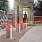 NGM大門地埋升降阻車樁 遙控智能電動伸縮柱