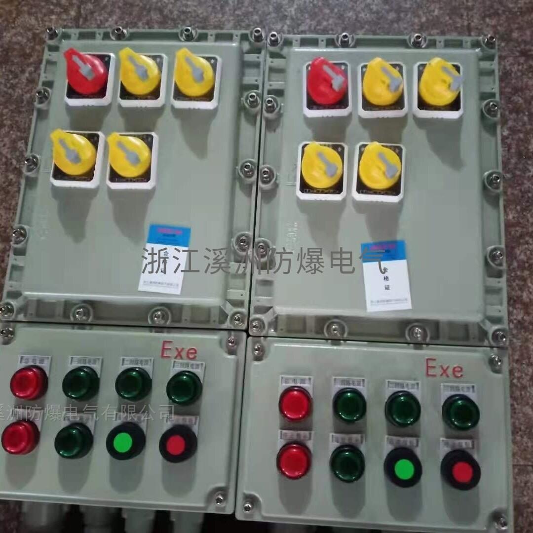 IIB级4回路带总开防爆配电箱