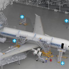 SigmaZARGES梯子应用于航空