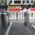 NGM人脸识别全自动双开豪华摆闸闸机