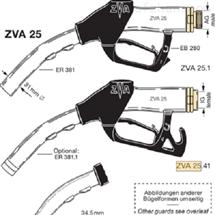 ZVA 25ELAFLEX HIBY 加油枪