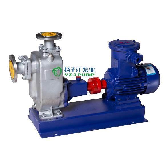 ZW型防爆自吸式排污泵 不锈钢自吸式排污泵