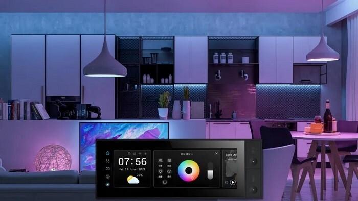 狄耐克超级家庭智慧中控屏告诉你 五彩斑斓的黑真实存在