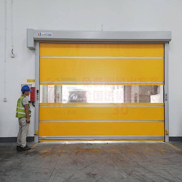 徐州印刷工厂车间快速卷帘门